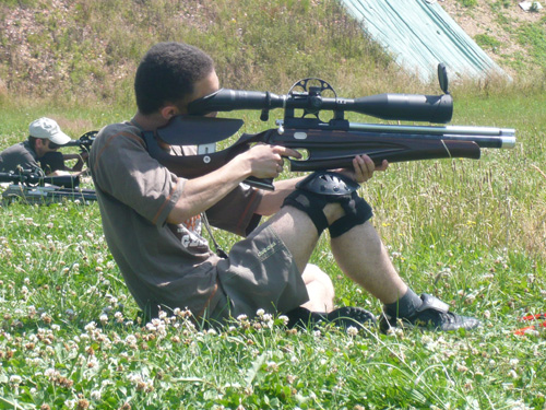 Match de Field target (airgun)